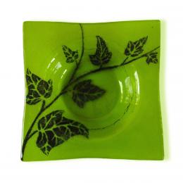 Bomboniera quadrata verde