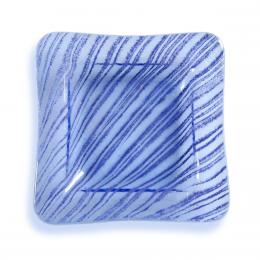 Bomboniera quadrata con striature