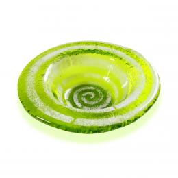 Bomboniera tonda verde chiaro