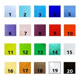 Bomboniera quadrata azzurro chiaro