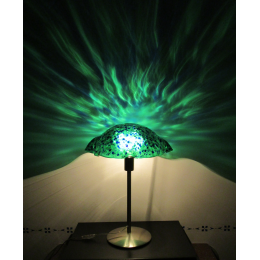 Lampada da tavolo Pavone