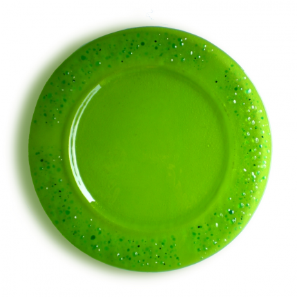Piatto - sottopiatto verde
