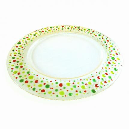 Stille - piatto-sottopiatto trasparente