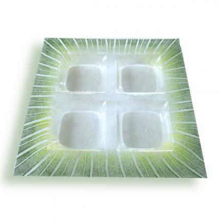 Porta aperitivi trasparente