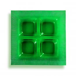 Porta aperitivi verde