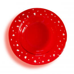 Portacandela rosso - serie lapilli