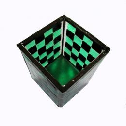 Portamatite verde e nero