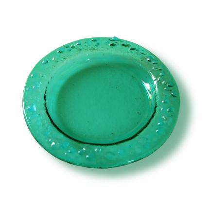 Sottobicchiere - piattino verde acqua