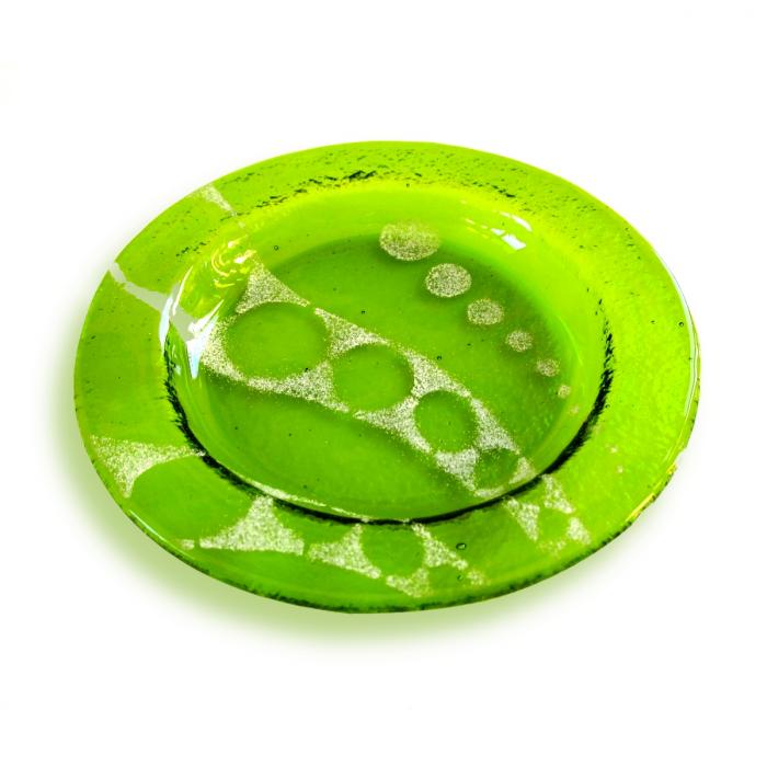 Sottobicchiere - piattino verde chiaro