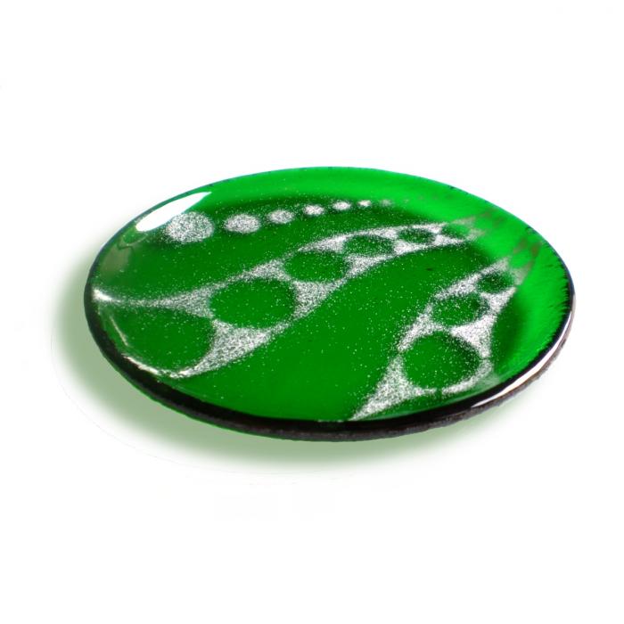 Sottobicchiere - piattino verde