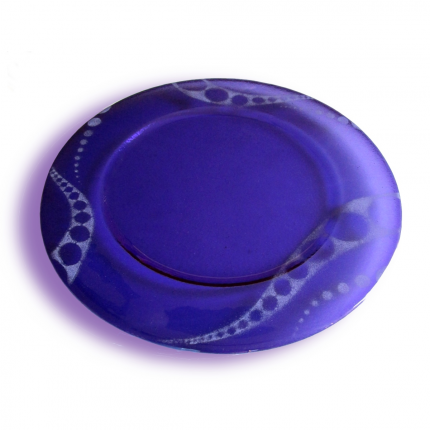Sottopiatto - piatto viola