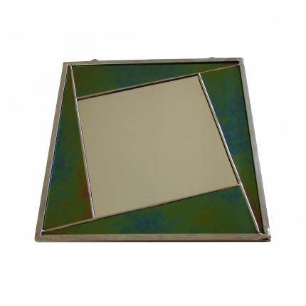 Specchietto verde-blu